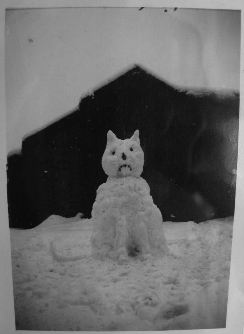 bonhomme neige ancien photo 55 Des bonshommes de neige à lancienne