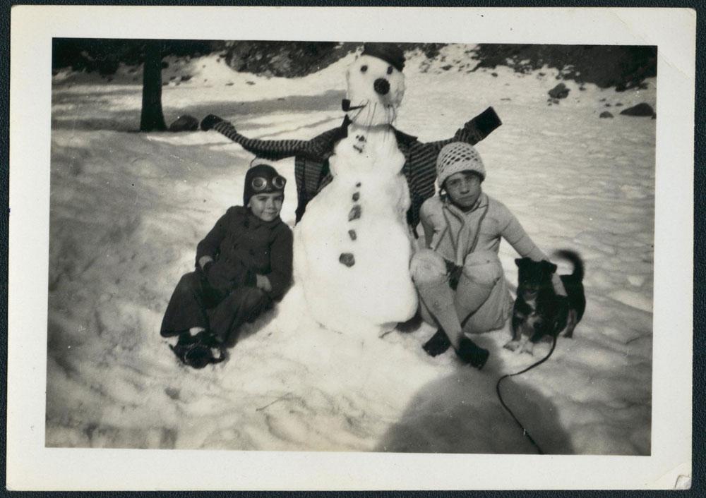 bonhomme neige ancien photo 56 Des bonshommes de neige à lancienne