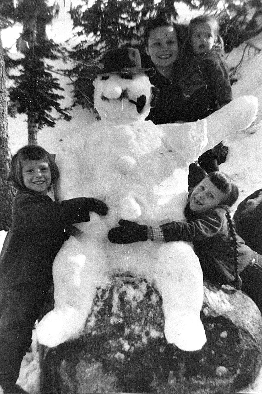 bonhomme neige ancien photo 57 Des bonshommes de neige à lancienne