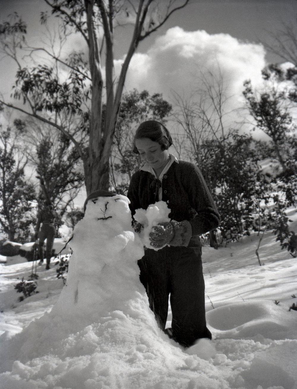 bonhomme neige ancien photo 59 Des bonshommes de neige à lancienne