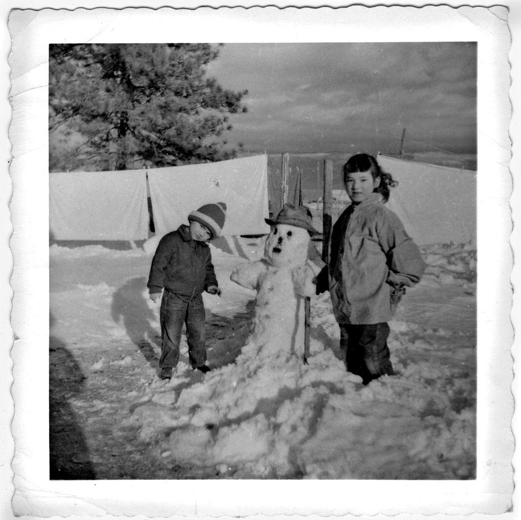 bonhomme neige ancien photo 60 Des bonshommes de neige à lancienne