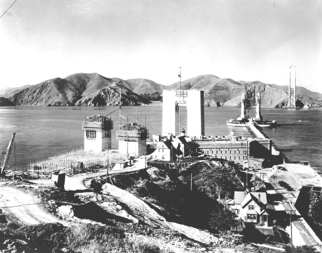 La construction du Golden Gate Bridge de San Francisco ! By Laboiteverte Construction-Golden-Gate-Bridge-05