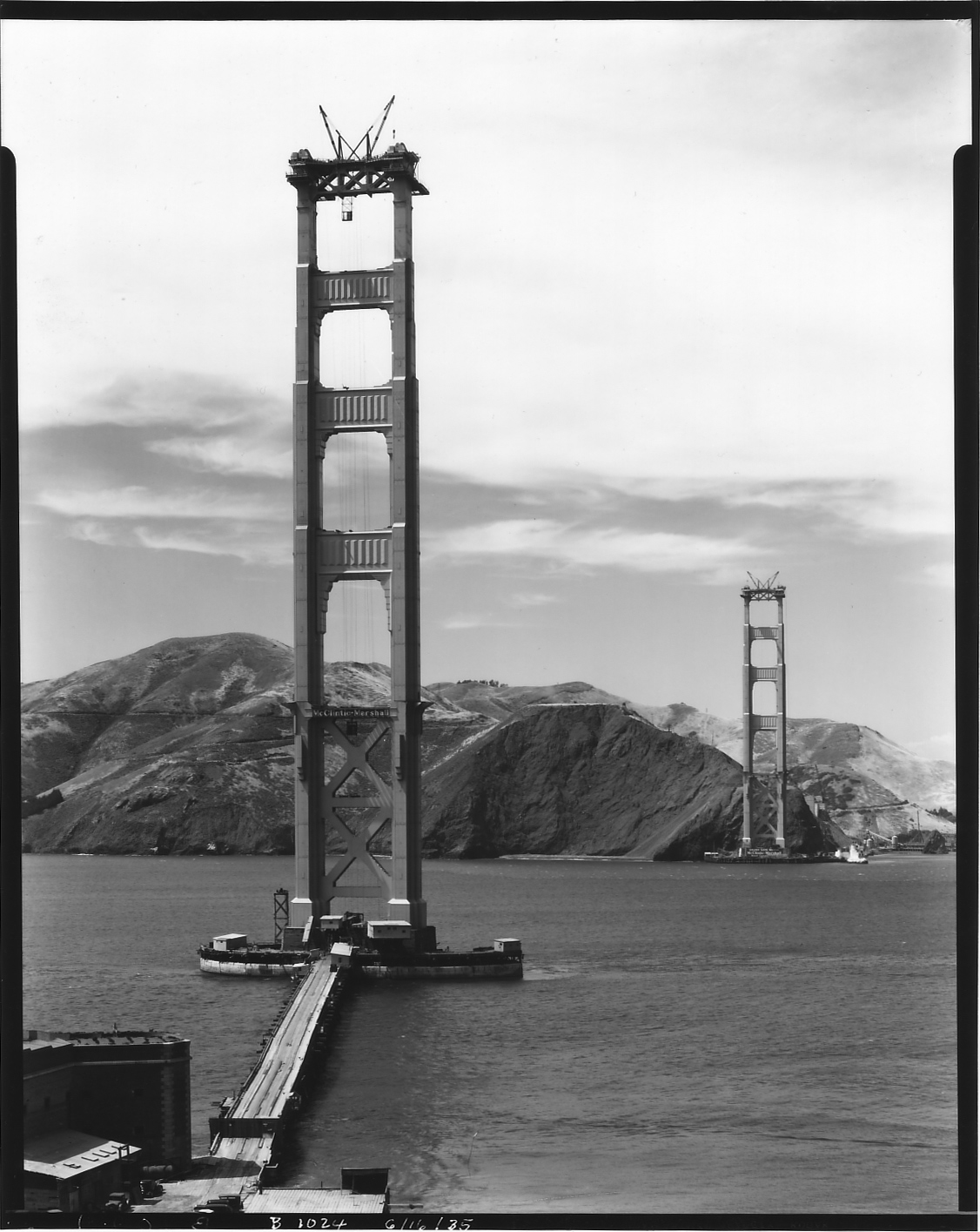 construction Golden Gate Bridge 10 La construction du Golden Gate Bridge
