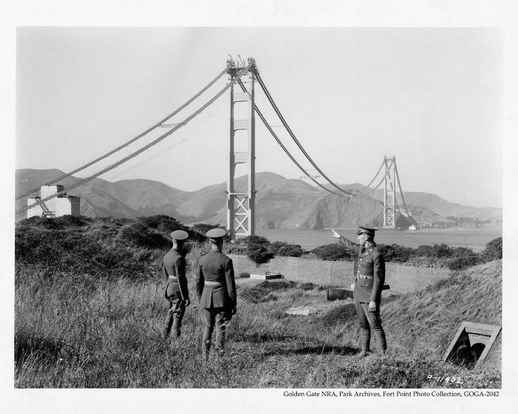 construction Golden Gate Bridge 11 La construction du Golden Gate Bridge