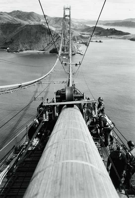 construction Golden Gate Bridge 15 La construction du Golden Gate Bridge