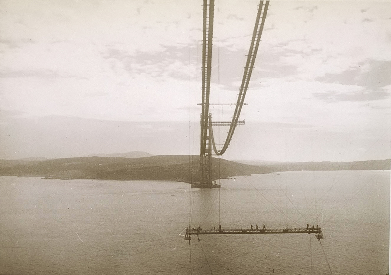 construction Golden Gate Bridge 16 21 La construction du Golden Gate Bridge