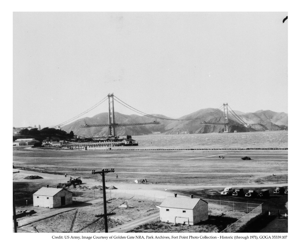 construction Golden Gate Bridge 19 La construction du Golden Gate Bridge