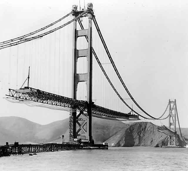La construction du Golden Gate Bridge de San Francisco ! By Laboiteverte Construction-Golden-Gate-Bridge-20