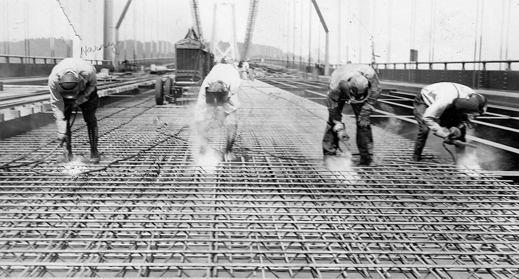 construction Golden Gate Bridge 21 La construction du Golden Gate Bridge  photo histoire featured architecture