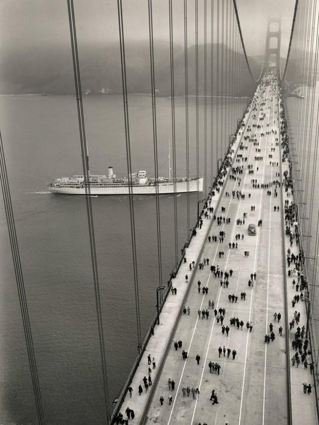 La construction du Golden Gate Bridge de San Francisco ! By Laboiteverte Construction-Golden-Gate-Bridge-24
