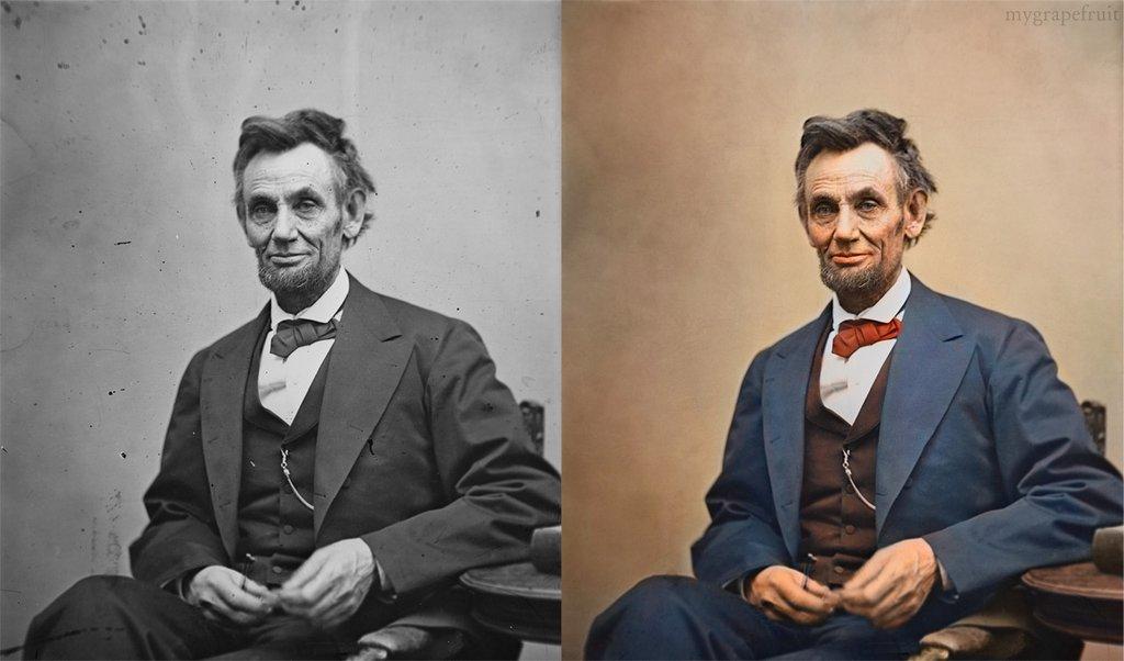 photo ancienne colorise 02 Vieilles photos célèbres colorisées  photographie histoire design bonus