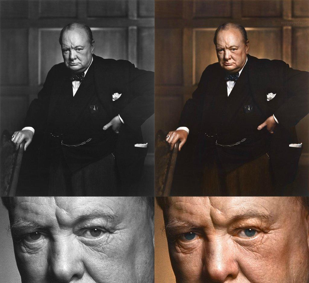 photo ancienne colorise 11 Vieilles photos célèbres colorisées  photographie histoire design bonus