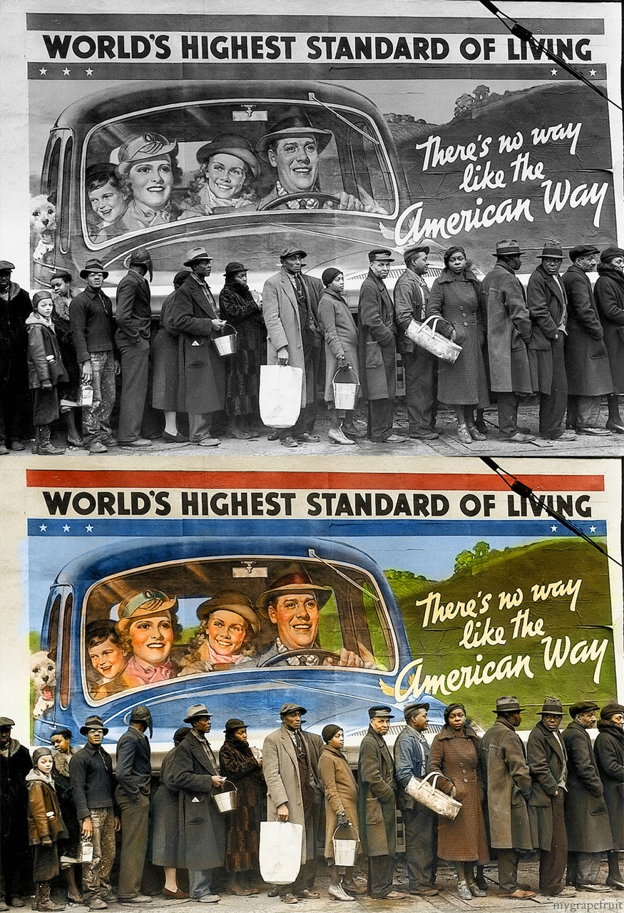 photo ancienne colorise 17 Vieilles photos célèbres colorisées  photographie histoire design bonus