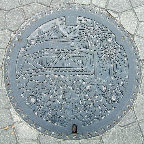 plaque egout japon 07 Des plaques dégouts japonaises