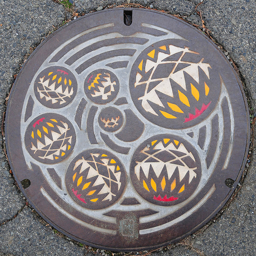plaque egout japon 10 Des plaques dégouts japonaises