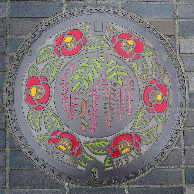 plaque egout japon 11 Des plaques dégouts japonaises