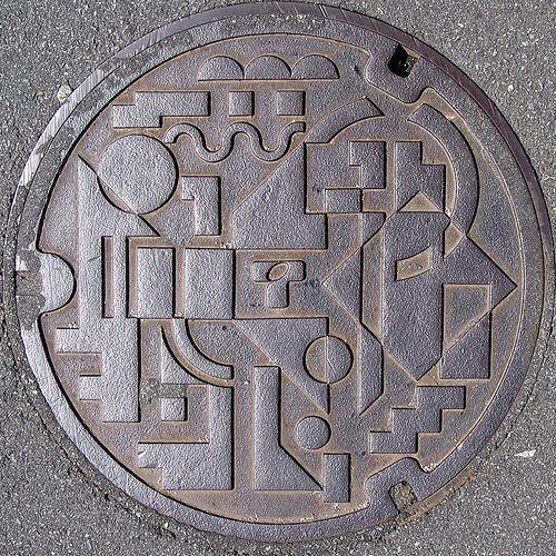 plaque egout japon 14 Des plaques dégouts japonaises