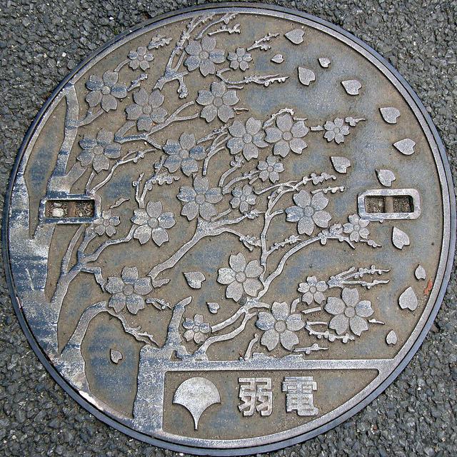plaque egout japon 20 Des plaques dégouts japonaises