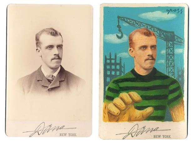 vieu portrait peinture super hero 01 Portraits des années 1870 transformés en super héros