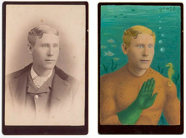 vieu portrait peinture super hero 03 Portraits des années 1870 transformés en super héros
