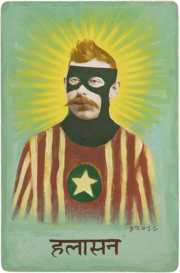 vieu portrait peinture super hero 11 Portraits des années 1870 transformés en super héros