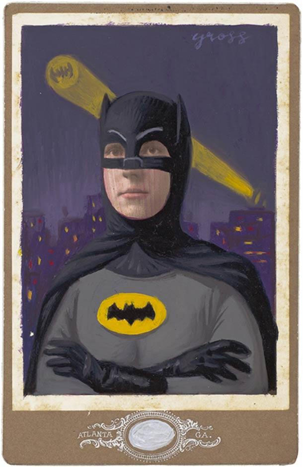 vieu portrait peinture super hero 23 Portraits des années 1870 transformés en super héros