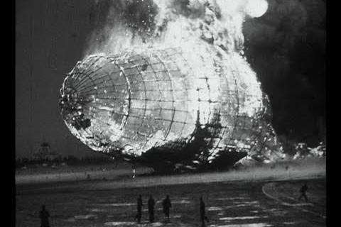 La catastrophe de l'Hindenburg