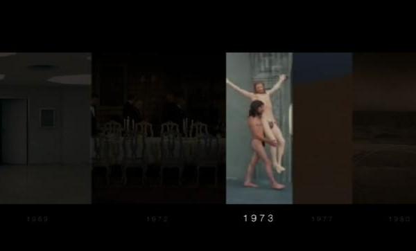 L'histoire du cinéma avec une frise vidéo