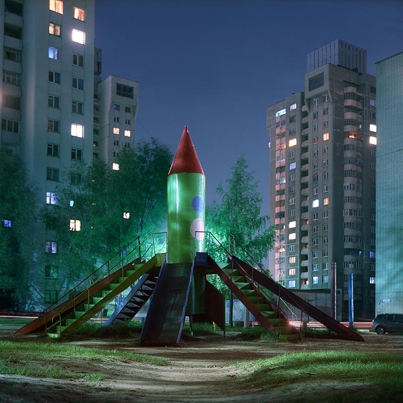 Aires de jeux spatiales russes