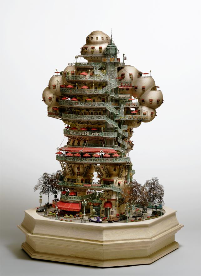 architecture building miniature 02 Larchitecture miniature de Takanori Aiba