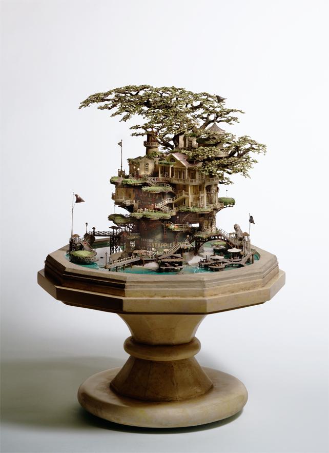 architecture building miniature 04 Larchitecture miniature de Takanori Aiba