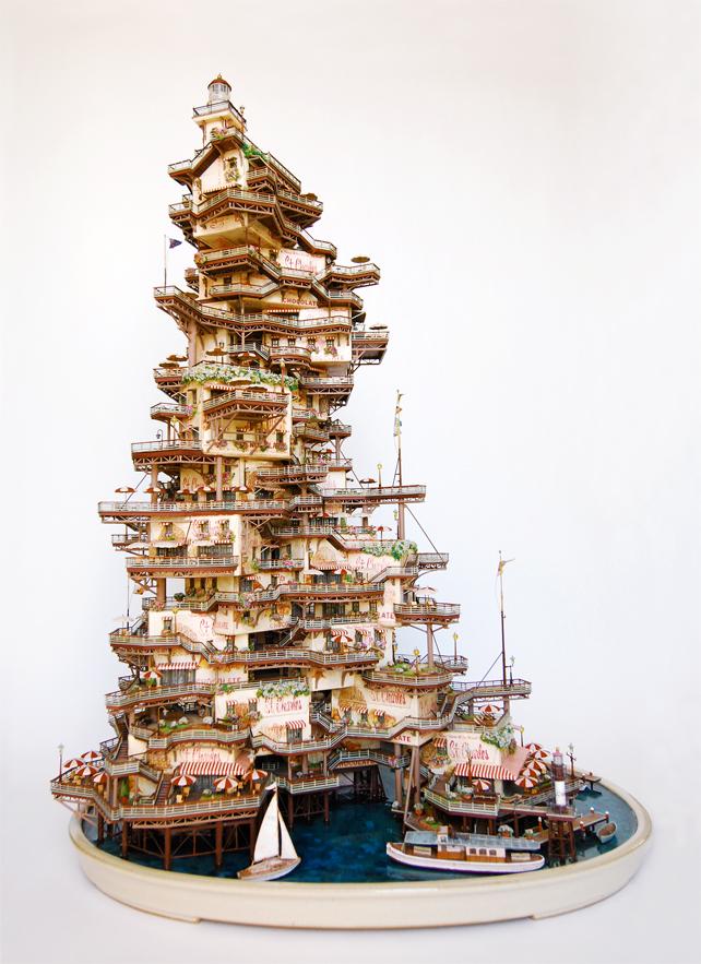 architecture building miniature 05 Larchitecture miniature de Takanori Aiba