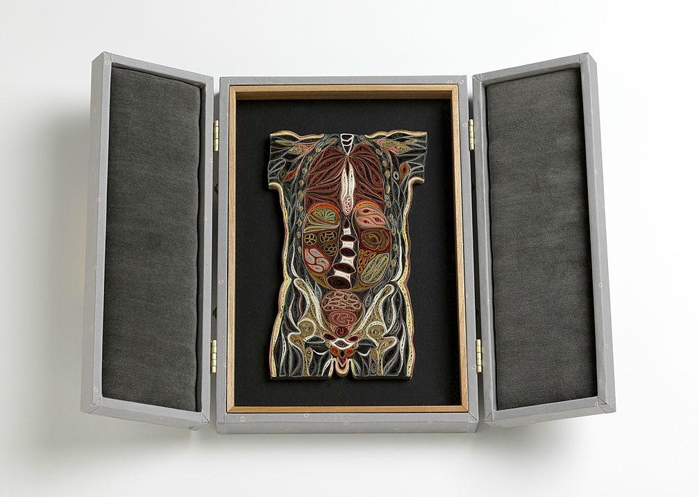 coupe anatomie papier 02 Coupes anatomiques en tranches de papier  technologie bonus art