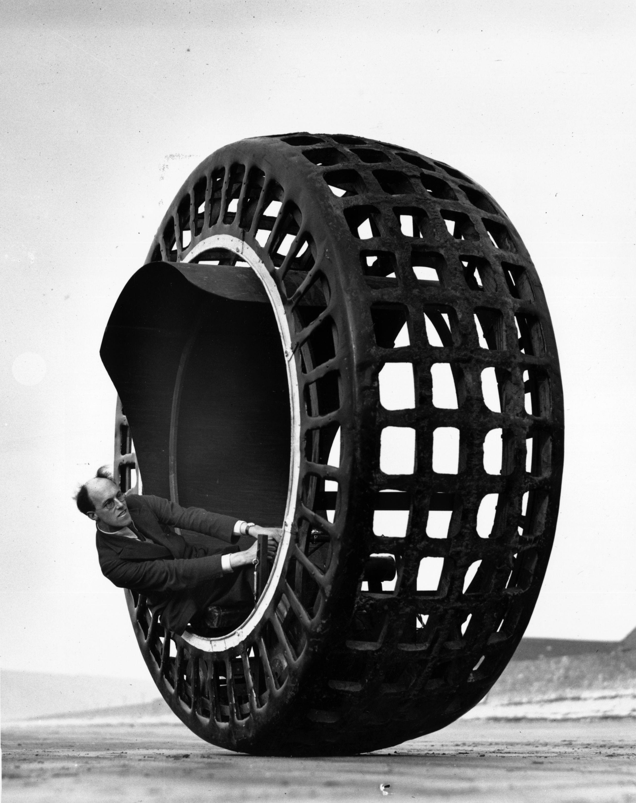 dynasphere monowheel 01 Roulez en Dynasphère