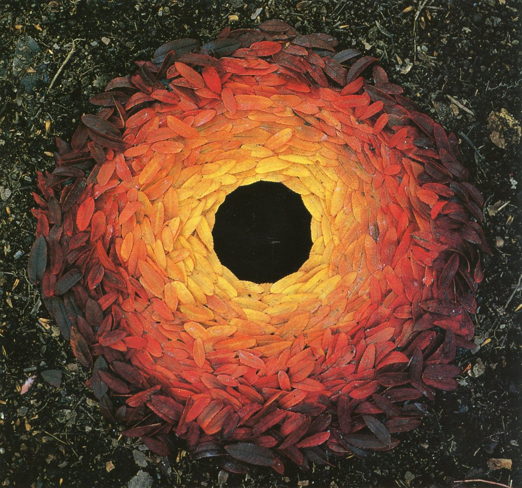 land art Andy Goldsworthy 01 Les oeuvres dans la nature dAndy Goldsworthy  photo bonus art
