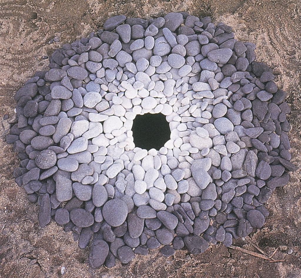 The gallery for land art andy goldsworthy for Artiste nature