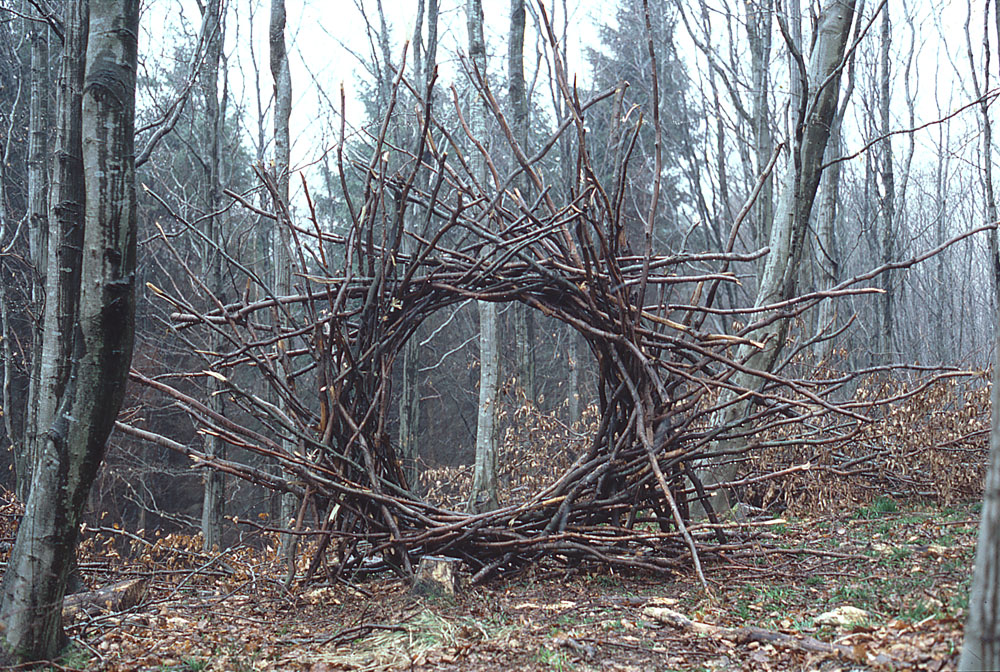 land art Andy Goldsworthy 04 Les oeuvres dans la nature dAndy Goldsworthy  photo bonus art