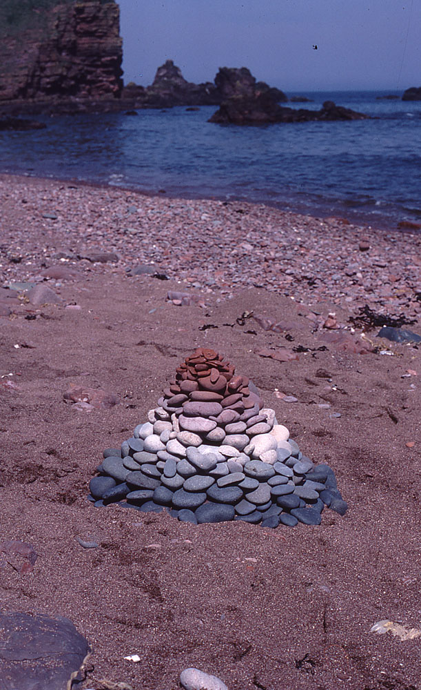 land art Andy Goldsworthy 07 Les oeuvres dans la nature dAndy Goldsworthy
