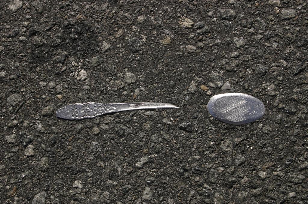 objet route new york 01 Archéologie de lasphalte à New York  photo divers bonus art