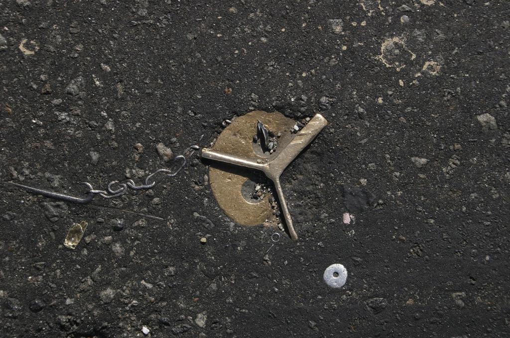 objet route new york 03 Archéologie de lasphalte à New York