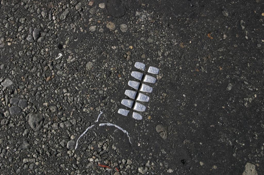 objet route new york 04 Archéologie de lasphalte à New York