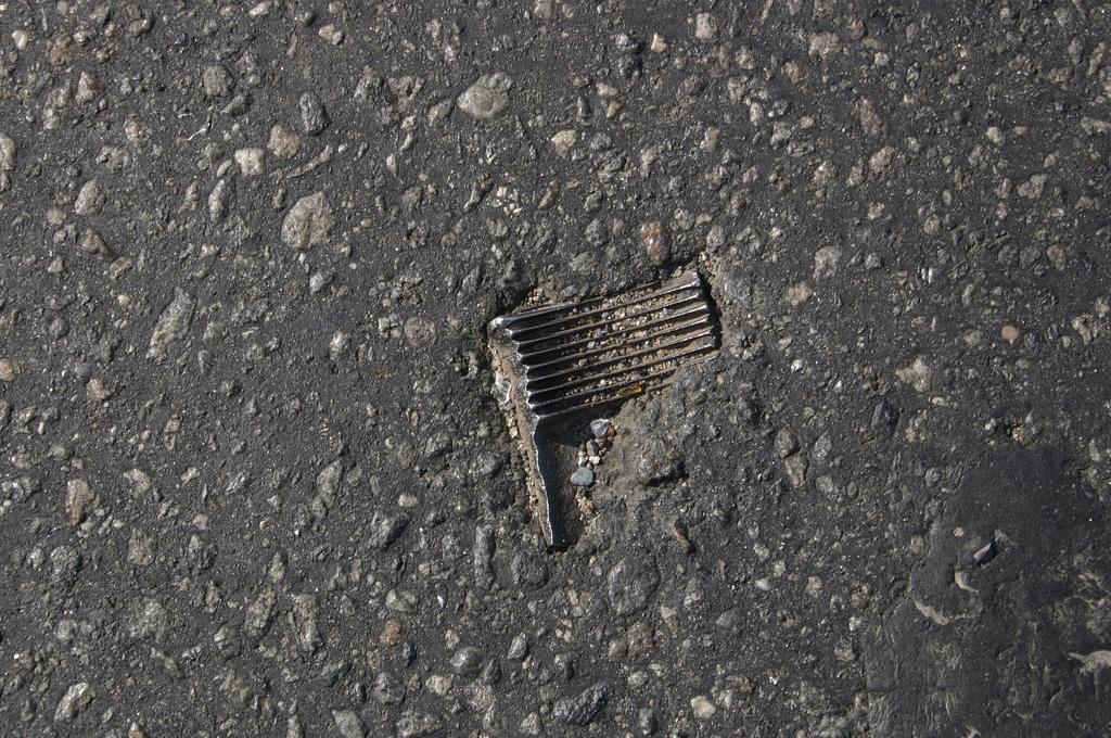 objet route new york 05 Archéologie de lasphalte à New York