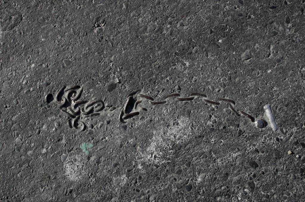 objet route new york 10 Archéologie de lasphalte à New York  photo divers bonus art