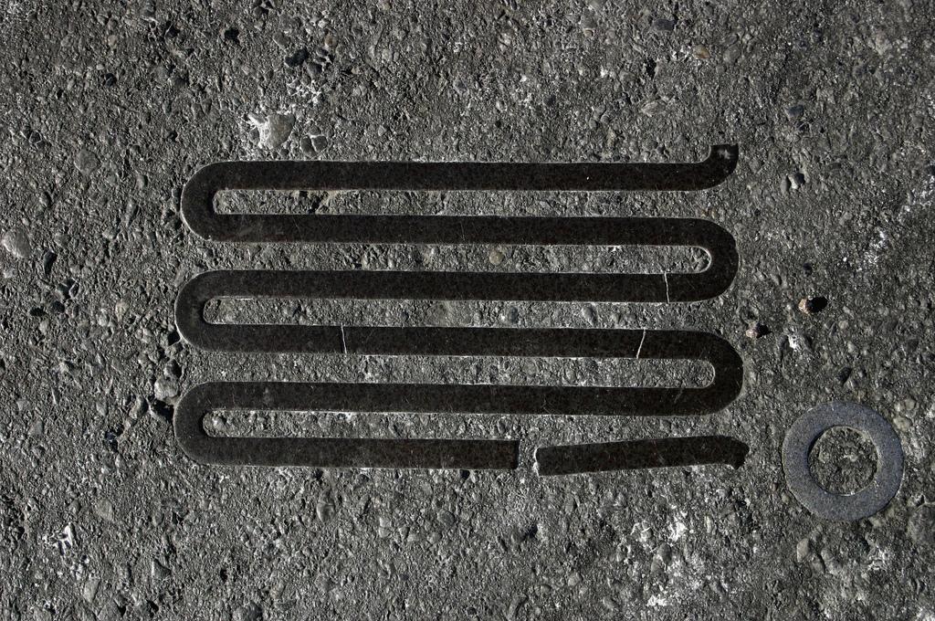 objet route new york 11 Archéologie de lasphalte à New York  photo divers bonus art