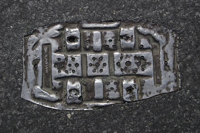 objet route new york 12 Archéologie de lasphalte à New York  photo divers bonus art