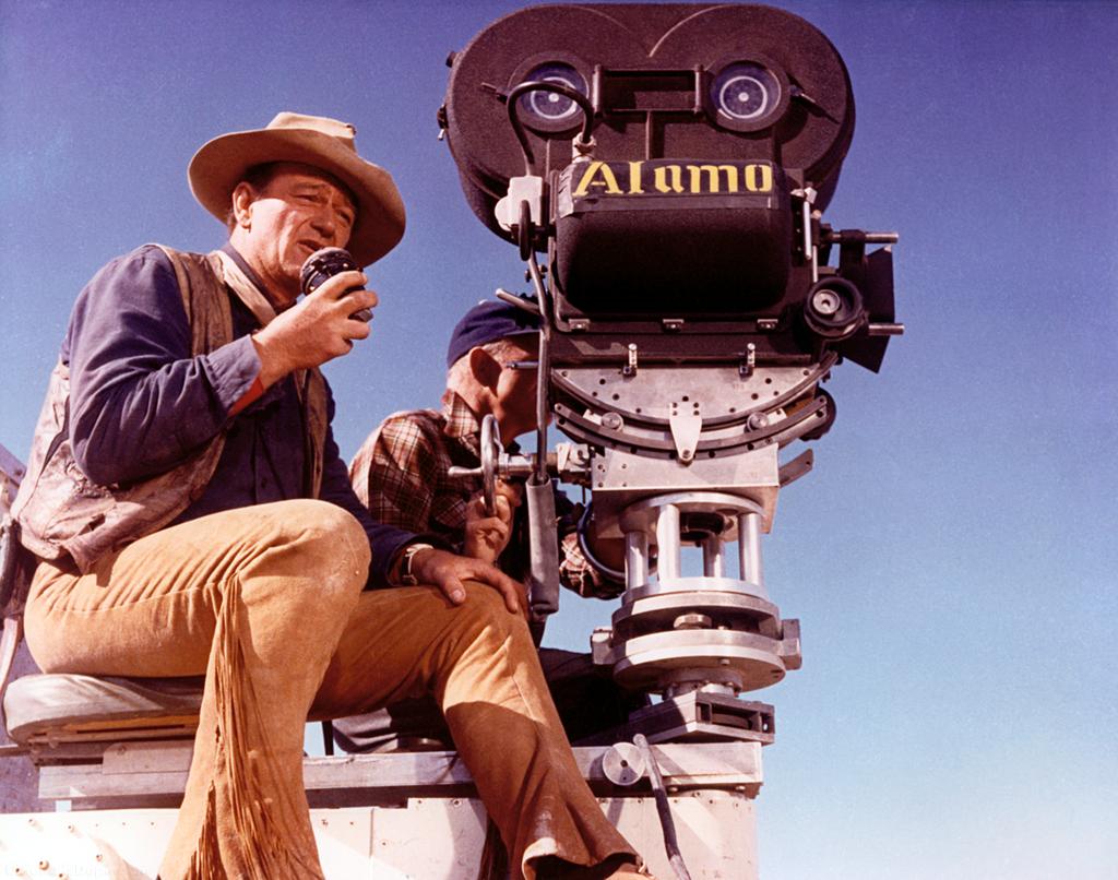 photo tournage coulisse cinema Alamo 44 Photos sur des tournages de films #2
