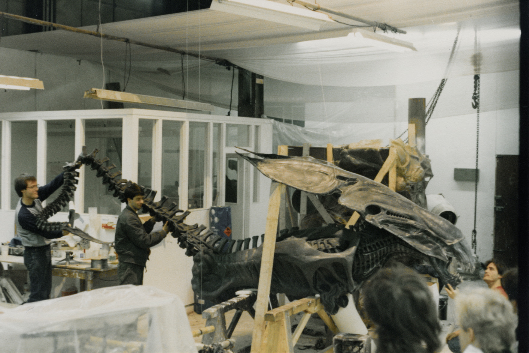 photo tournage coulisse cinema Alien2 47 Photos sur des tournages de films #2