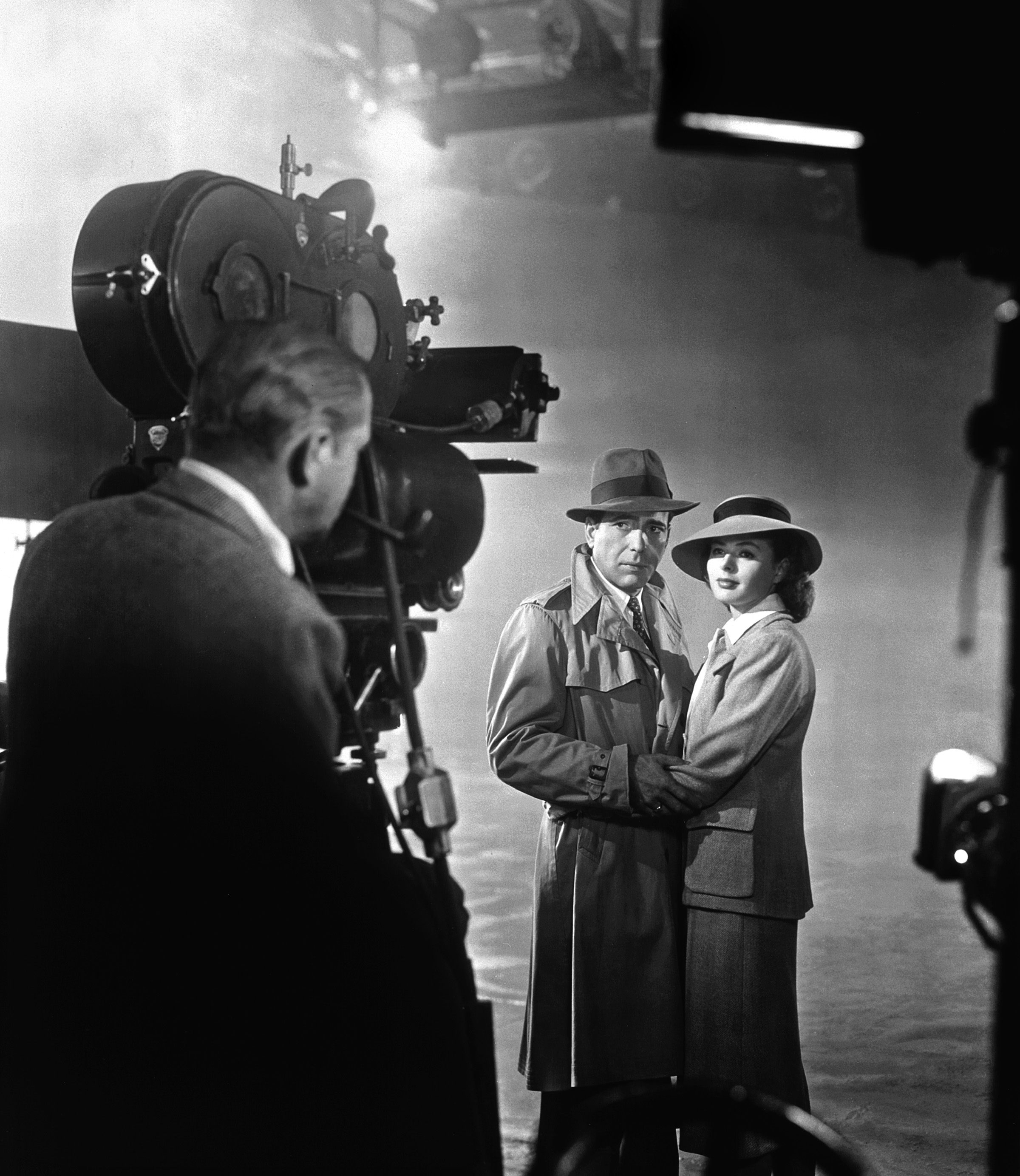 photo tournage coulisse cinema Casablanca 37 Photos sur des tournages de films #2