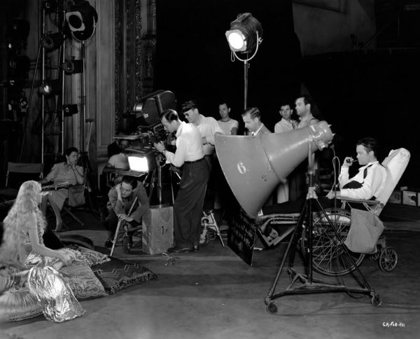 photo tournage coulisse cinema CitizenKane 53 Photos sur des tournages de films #2  photo featured cinema 2 bonus