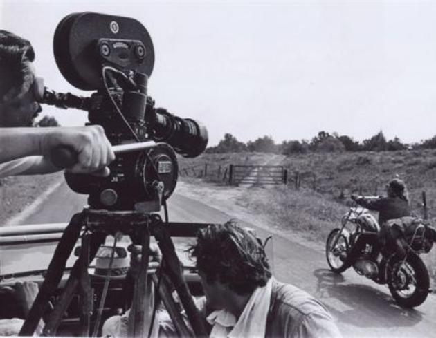 photo tournage coulisse cinema EasyRider 07 Photos sur des tournages de films #2